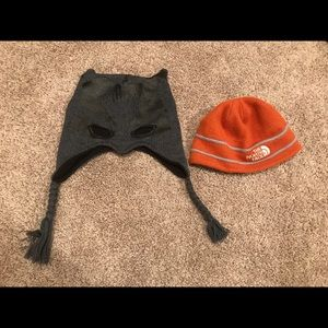 Lot of two Boys winter hats